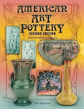 American Art Pottery Identification & Values Hard Cover Book EX LIBRARY