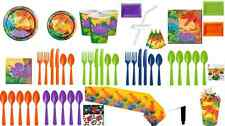 Prehistoric Dinosaur Party Themed Tableware Plates Cups Napkins Tablecover