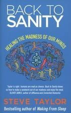 BACK TO SANITY - STEVE TAYLOR (PAPERBACK) NEW