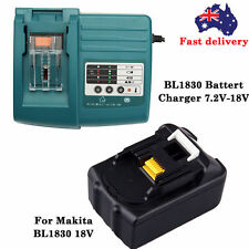 Makita LXT Li-Ion DC18RC Charger 7.2V - 18V / Lithium Ion Batteries BL1830 3 amp