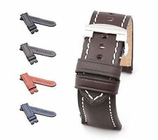 BOB Marino Saddle Calf Deployment Strap for Panerai, 24/22 mm, 4 colors, new!