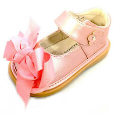 Girl Toddler READY SET MARY JANE w/Bow Squeaky Shoes Mooshu Trainers