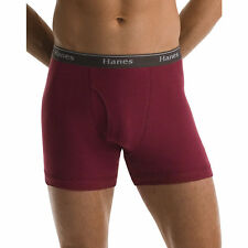 Hanes Classics Mens Assorted Dyed Boxer Briefs P5 NWT 76925A