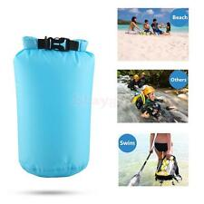 8L Waterproof Dry Bags Sack Pouch Floating Boating Swimming Rafting Camping