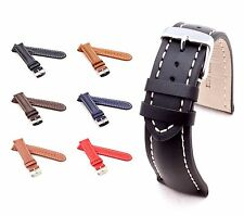 BOB Classic Calf Watch Band for Breitling, 18-24 mm, 6 colors, new!