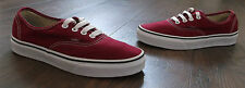 VANS OFF THE WALL LOW TRAINERS SIZE UK 4 OLDER BOYS/GIRLS AND WOMENS