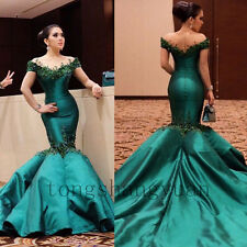 Mermaid Evening Dresses For Women Pageant Formal Prom Gowns Party Cocktail 2017