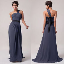 Women Formal Evening Bridesmaid Ball Gown Long Cocktail Maxi Dress Plus Size NEW