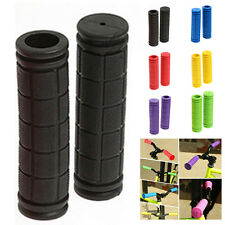 Bike MTB Cycling Mountain Bicycle Scooter Bike Handle Bar Rubber Soft End Grip