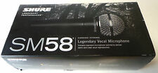 Shure SM58-LC Dynamic Professional Microphone