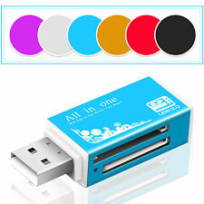 for Micro SD SDHC TF M2 MMC MS DUO All in 1 USB 2.0 Multi Memory Card Reader KY