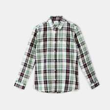 WeSC Nisse Long Sleeve Relaxed Fit Shirt in Granite Green