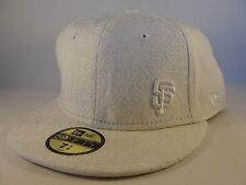 MLB San Francisco Giants New Era 59FIFTY Fitted Hat Cap Ivory