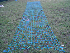 XXL 6m 21ft STRONG cargo rope net 4tree climb ladder frame swing obstacle safety