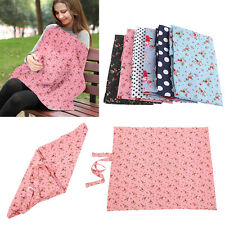 Baby Infant Mum Breastfeeding Napkin Neckline Nursing Cover Feeding Shawl Cloth