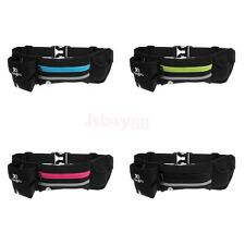 Waterproof Sport Waist Bum Bag Running Jogging Belt Pouch w/ Water Bottle Holder