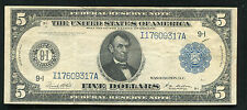 FR. 879a 1914 $5 FIVE DOLLARS FRN FEDERAL RESERVE NOTE MINNEAPOLIS, MN