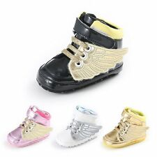 Infant Toddler Baby Boy Girl Soft Sole Crib Shoes Sport Sneakers Prewalker 0-12M