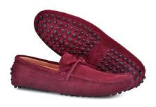 Mens casual Moccasin gommino Loafers slip on Casual Driving suede boats Shoes Sz