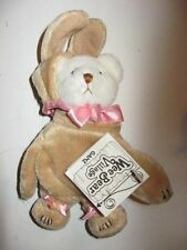 Vintage Ganz Teddy Wee Bear Village Tags He2167 Easter Bunny Rabbit Costume
