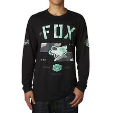 Fox Racing Men's Gorged Long Sleeve Tee Foxhead Logo Motocross Racing T-shirt