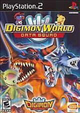 digimon world data squad ( sony playstation 2 2007 ) ps2 complete