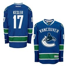 RYAN KESLER Vancouver Canucks Home Reebok Premier Officially Licensed NHL Jersey