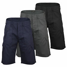 Mens Cargo Shorts by Designer Dissident Summer Cotton Combat Chino Casual S-XL