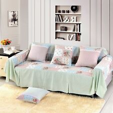 Floral Cotton Blend Slipcover Sofa Cover TauL Protector for 1 2 3 4 seater hynx
