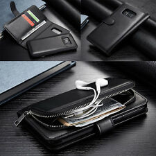 For Samsung Galaxy S8/S8 Plus Multifunction Remove Wallet Flip Zipper Case Cover