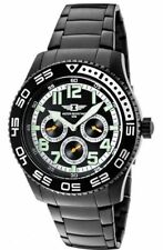 Invicta Men's 43658-006 Black Dial Black Ion-Plated Stainless Steel Watch