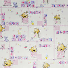 Gift Wrap Teddy Baby Girl Baby Shower Party Girls Gift Giving