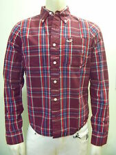 HOLLISTER by Abercrombie Men La Jolla Cove Plaid Classic Shirt NwT XL