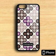Coach New York Cute Fashion Print On Hard Plastic For iPhone 5s 6 6s 7 Plus Case
