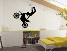 Dirt bike wall sticker | Bike wall decal