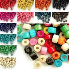 30g(700pcs Approx) Wood Spacer Beads Donut Loose DIY Charms 3x4mm FBWBSET02