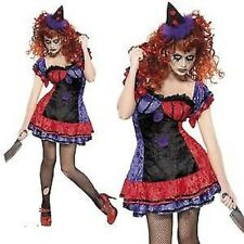 Sinister Bo Bo The Clown Costume Circus Cirque Adults Fancy Dress