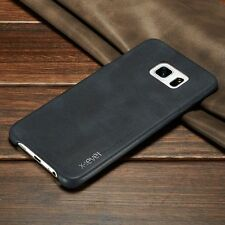 Ultra-thin Vintage Leather Fitted Back Cover Skin Case For Various Mobile Phones