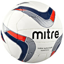 MITRE OUTDOOR FOOTBALL SPORTS LIVELY PERFORMANCE 18 PANEL MINI-SOCCER MATCH BALL