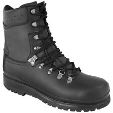 Highlander Elite Forces Boots Tactical Leather Mens Waterproof Footwear Black