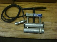 FOOTAGE POLYETHYLINE PIPE SQUEEZE TOOL FREE SHIPPING