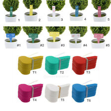 100pcs of Plastic T-Type Plant Shrub Tree Labels Tags Markers Garden Pot Marks