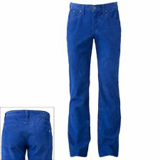 Mens Rock and Republic Light Weight Blue Neil Straight Leg Corduroy Pants Jeans