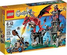 RARE LEGO SET CASTLE 70403 DRAGON MOUNTAIN BUILDING TOY FACTORY SEALED NEW