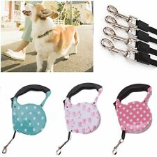 5M Walking Puppy One-handed Lock Automatic Retractable Dog Leash Pet Lead Rope