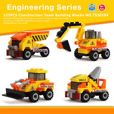 Engineering Assembly Toy Early Educational Building Blocks Kids Christmas Gift