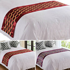Bed Runner Fashion Geometric Bed End Cloth Table Cover Business Hotel Supplies