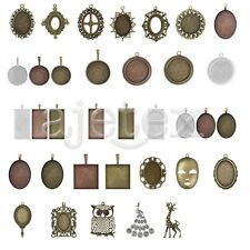 31 Style 1-15pcs Antique Brass Bead Pendant Supplies Jewelry Making