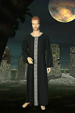 Medieval Wicca Pagan or Druid Ritual Robe Handmade Natural Cotton