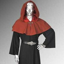 Medieval Shoulder Cape  Gothic Style Hood